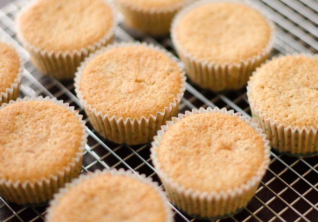 Gluten Free Almond Cupcakes