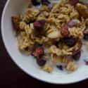 Coconut Almond Granola {gluten-free}