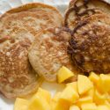 Oat Flour Pancakes {gluten-free}