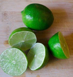 Lime Tart Limes
