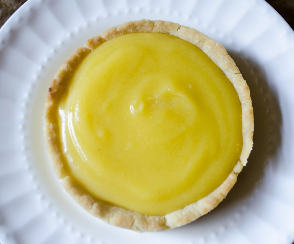 Lime Curd Tarts