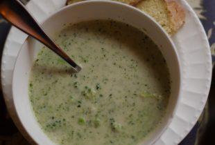 A Little Bit Cheesy Cream of Broccoli Soup