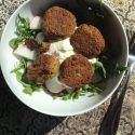 Lunch idea – Falafel with Arugula