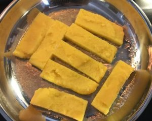 polenta cooking