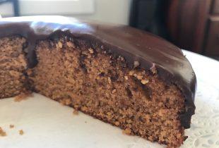 Coconut Cake with Chocolate Ganache {gluten-free, dairy-free}
