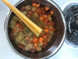 Making the Soup