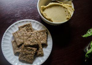 Cashew Pulp Crackers