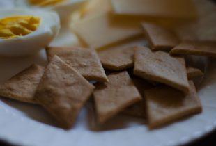 Chickpea Crackers {gluten-free}