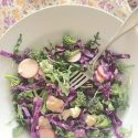 Anti-Cancer Salad with Zesty Lemon Dressing